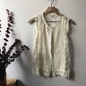 buckle brand lace button down